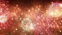 Colorful Fireworks Exploding I...
