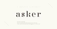 Elegant Alphabet Letters Font ...