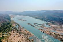Dry Mekong Crisis, Khong Chiam District, Ubon Ratchathani Province