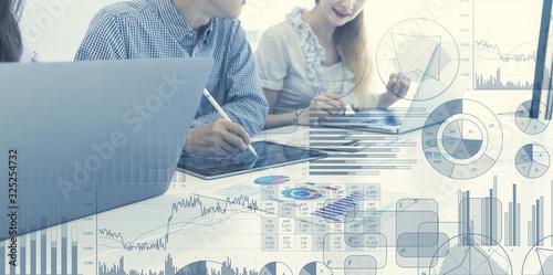 ビジネスと統計 Canvas-taulu