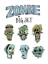 Six Portraits Of Zombies, Call...
