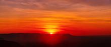 Amazing Sunset And Sunrise.Pan...