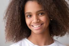 Headshot Portrait Of African A...