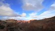 Canyonlands Mountains & Clouds Timelapse 4k UHD