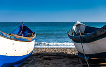 Two Fishing Boats Waiting On T...