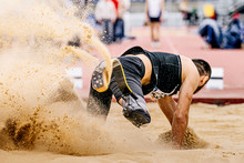 Long Jump In Para Athletics Athlete With Disability In Prosthetic
