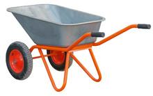 Garden Wheelbarrow Cart Isolat...