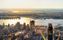 Aerial View To Manhattan West ...