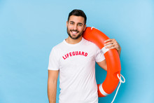 Young Handsome Lifeguard Man I...