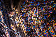 Stained Glasses In Cathedral S...