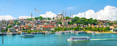 Photo Golden Horn in Istanbul