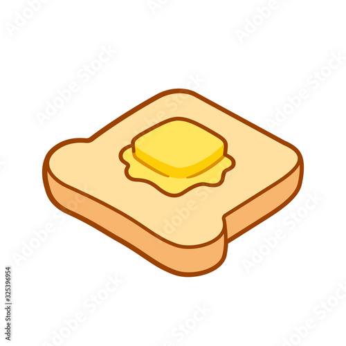 фотография Toast with butter