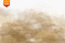 Realistic Dust Clouds. Sand St...