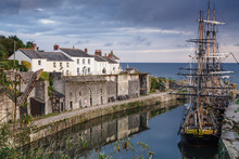Charlestown Harbour Cornwall UK