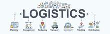 Logistics Banner Web Icon For ...
