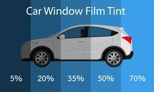 Car Film Tint Percent UV Block Automobile Safe Danger