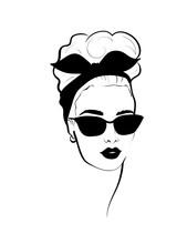 Fashion Monochrome Design Sket...