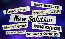 New Solution Headlines Announc...