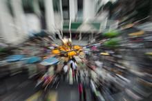 Big City Traffic In Asia