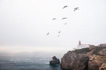 Lighthouse On Cape St. Vincent...