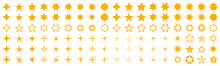 Stars Set Icons. Rating Star S...