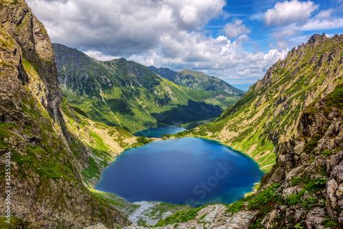 Fototapeta Morskie Oko lake in the Tatra Mountains, Poland obraz