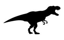 T-rex Tyrannosaurus Silhouette