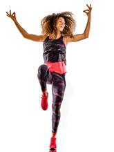 Woman Cardio Dancer Dancing Fi...