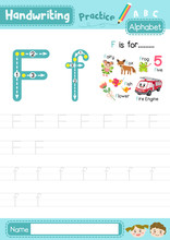 Letter F Uppercase And Lowerca...