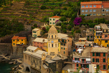 The Cinque Terre Town Of Vernazza