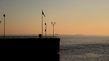 Hull Old Town Pier In Evening ...