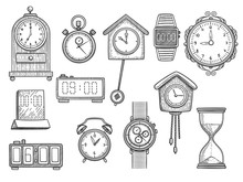 Doodle Clocks. Watches Timer A...