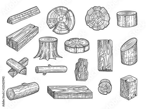 Lumber Canvas Print