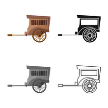 Vector Design Of Brougham And ...