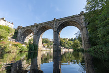 Knaresborough Railway Viaduct Yorkshire England