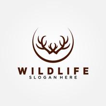 Wildlife Conservation Logo Vec...
