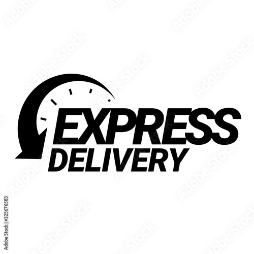 Express Delivery Icon Canvas Print