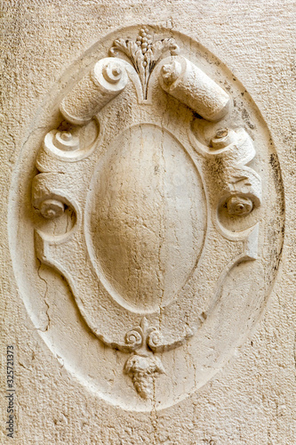 Architectural detail of old building Wallpaper Mural