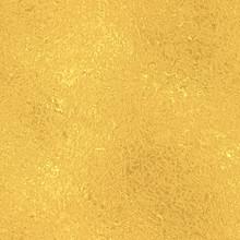 Gold Seamless Vintage Pattern, Golden Foil Texture Background