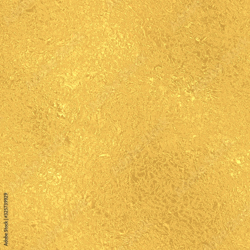 Obraz Gold seamless vintage pattern, golden foil texture background - fototapety do salonu