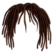 Trendy African Long  Hair Drea...