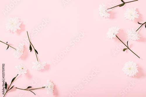 Beautiful flowers composition Wallpaper Mural