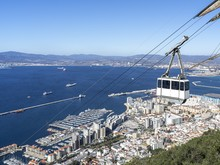 Cableway To Gibraltar Cliff