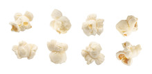Popcorn Set Isolated On White