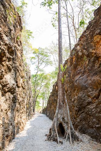 A Hellfire pass, Kanchanaburi, Thailand. Tablou Canvas