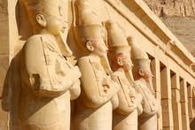 Pharaonic Statues At Ancient L...
