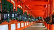 Kasuga Taisha Shrine In Nara P...