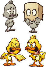 Ugly Duckling And Bully Ducks....