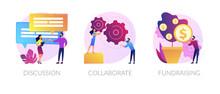 Teamwork And Coworking Web Ban...