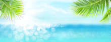 Summer Tropical Sea With Spark...